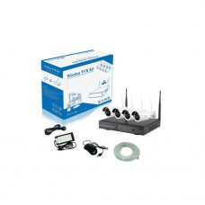 ZimaHD 4 Channel Wifi Camera KIT